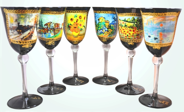 Painted Glass - An Impression of Impressionism - Copy